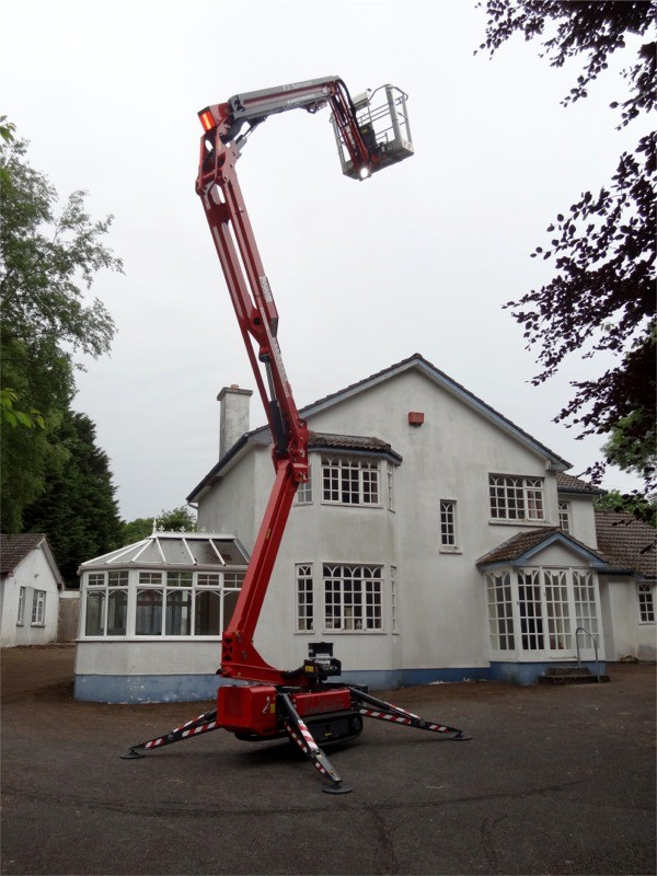Cherry Picker for hire with operator from P.J. Services - counties Sligo, Donegal, Leitrim, Fermanagh, Tyrone, Derry, Down, Antrim & Armagh, Ireland